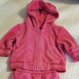 Baby Gap. Pink Sweat suit.  3-6 Months.